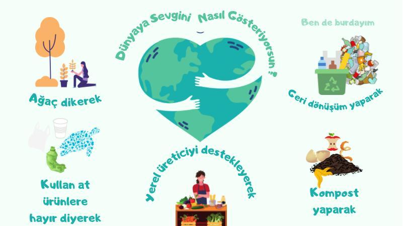 Dünyaya Sevgini Nasıl Gösteriyorsun?